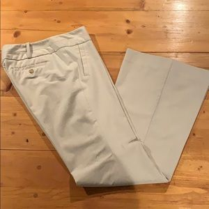 The Limited cream dress pants (size 8)